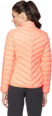 OTTERLINE chamarra Puffer ultraligera color melón. Talla M