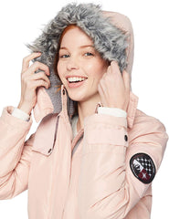 Pink Platinum Expedition Jacket chamarra de invierno. Talla L
