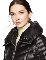 HAVEN OUTERWEAR chamarra acolchonada color negro. Talla S