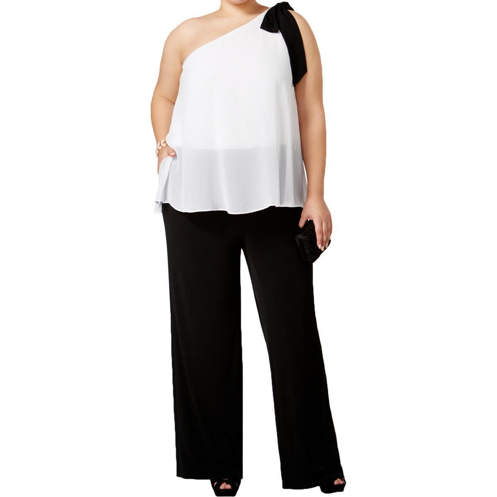 INC International Concepts Jumpsuit Palazzo con blusón. Talla 2XL y 3XL