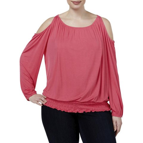 INC International Concepts blusa hombros libres. Talla XL