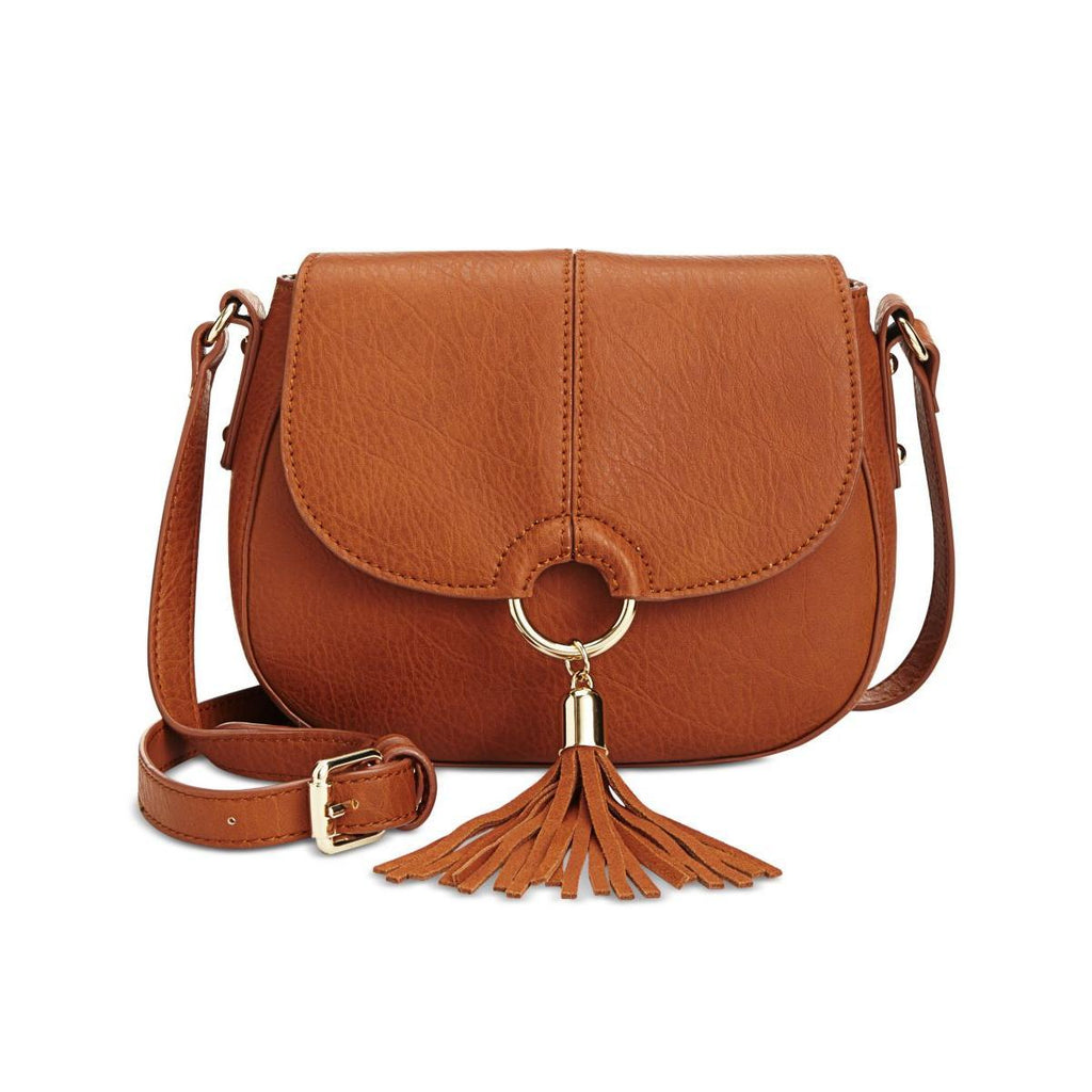 INC International concepts bolso mediano color cognac.