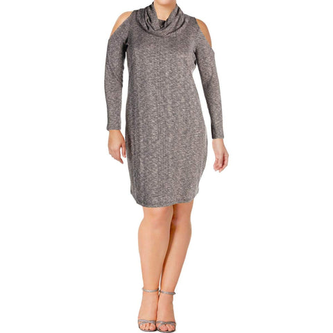 LOVE & LEGEND vestido tejido color gris. Talla XL