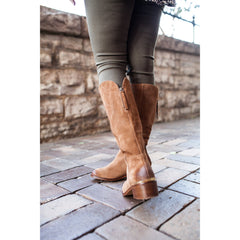 Naughty Monkey Stride Boots de gamuza. Talla 25.5 MX