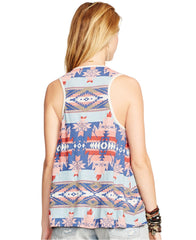 Ralph Lauren Denim & Supply blusa boho de chiffon estampado. Talla S
