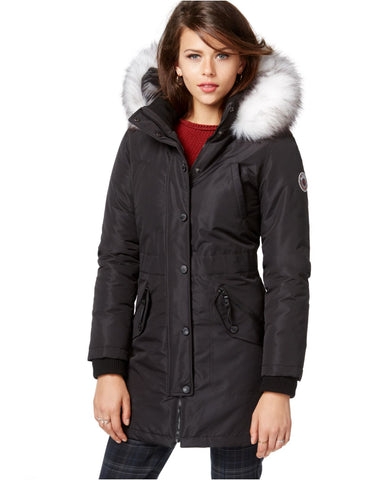 WILDFLOWER chamarra de invierno, nieve impermeable color negro. Talla S y XL