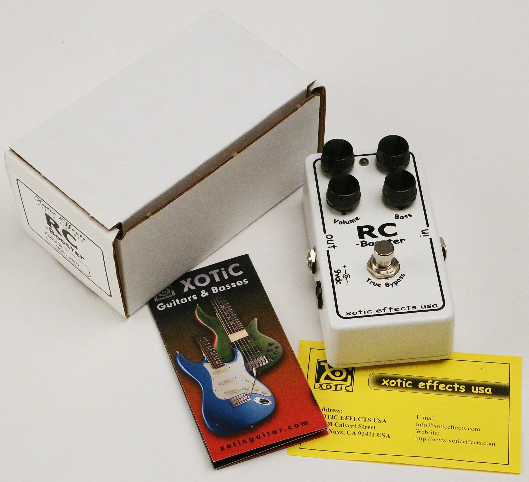 Xotic RC Booster - Scratch & Dent