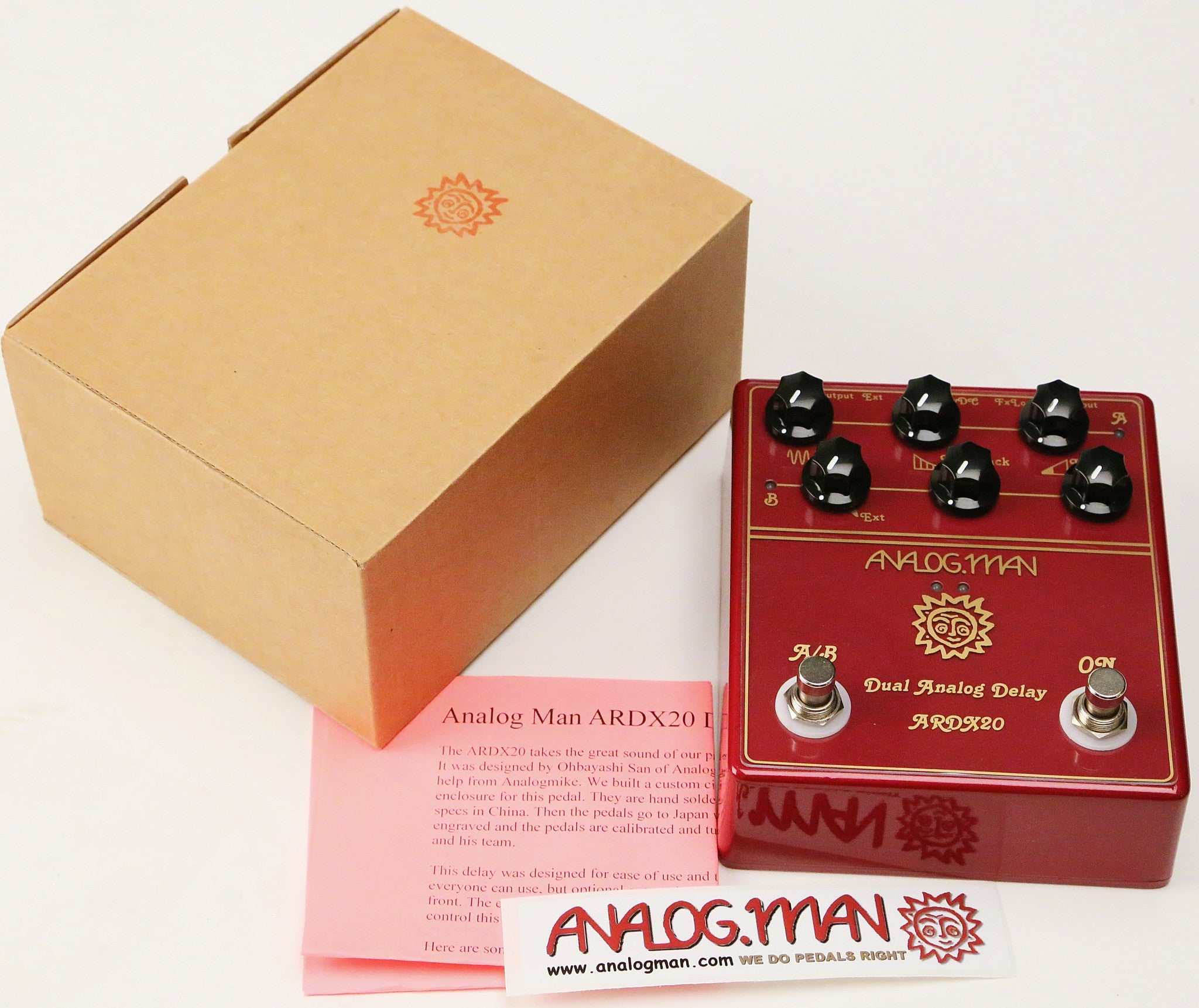 Analogman Dual Analog Delay