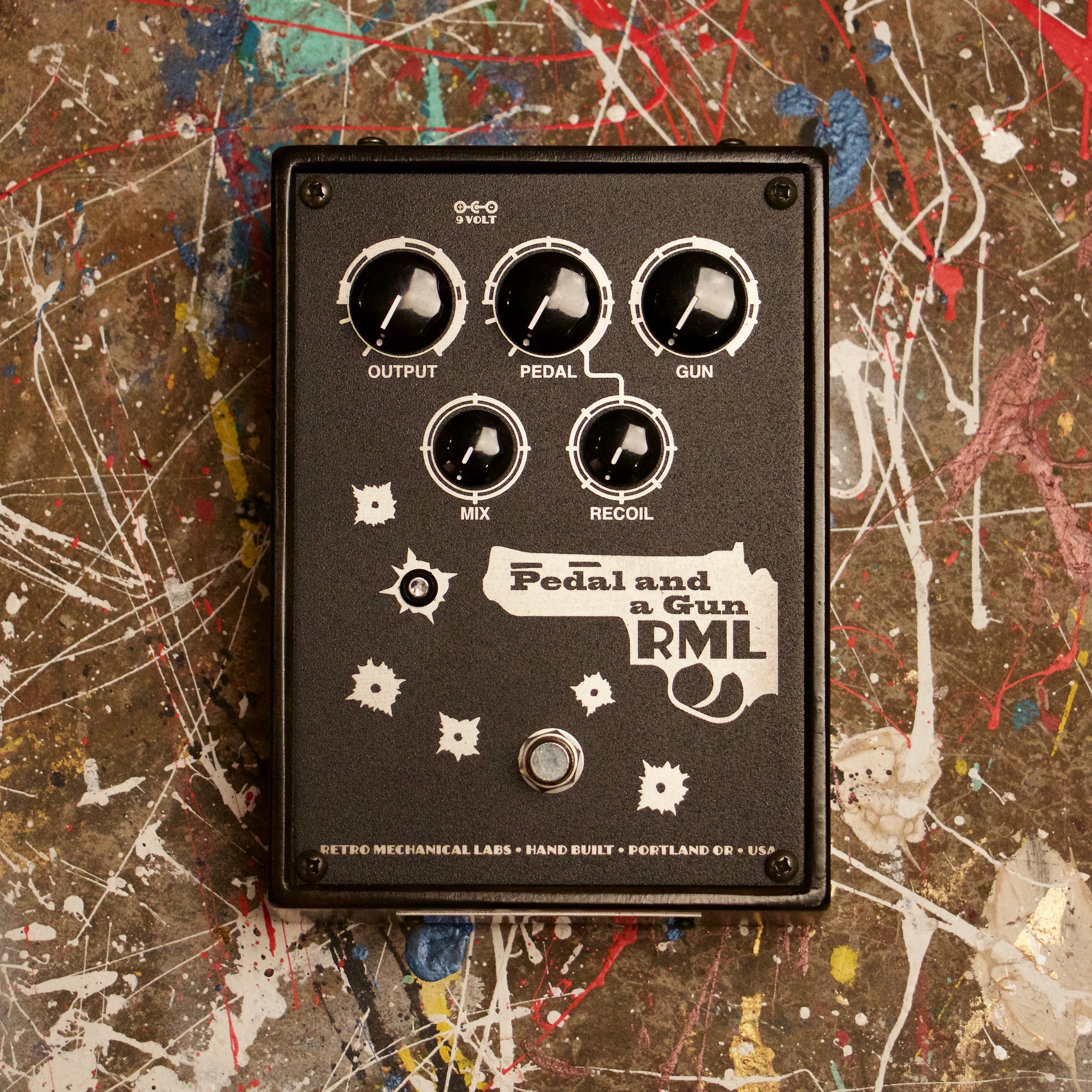 RML Pedal and a Gun Overdrive