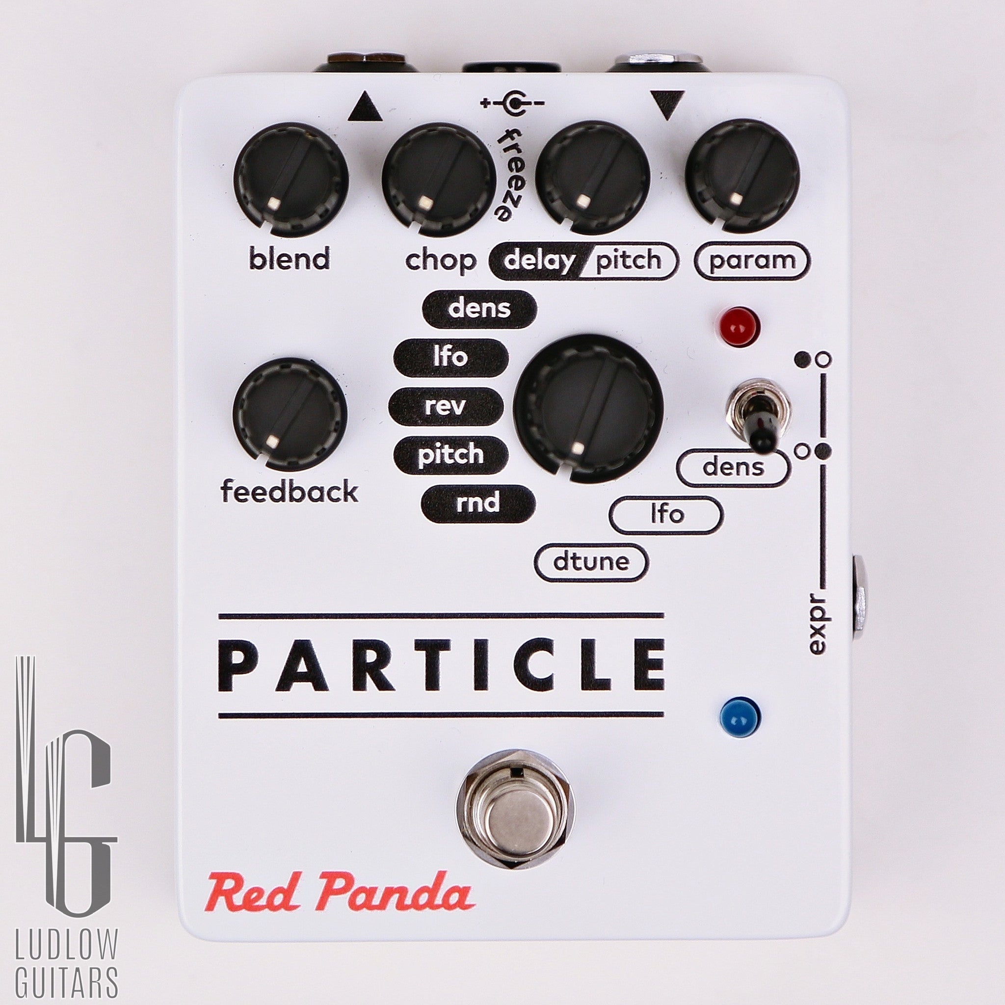 Red Panda Particle Delay