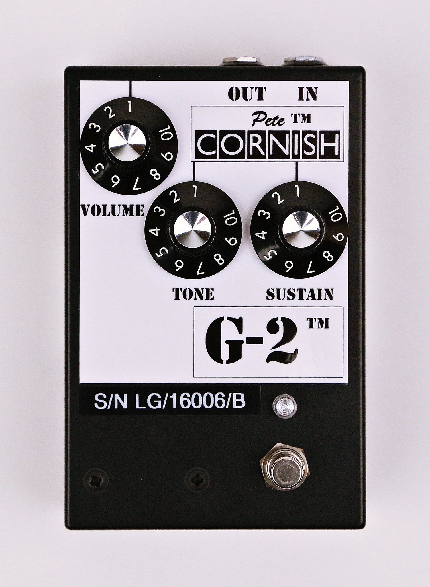 Pete Cornish G-2