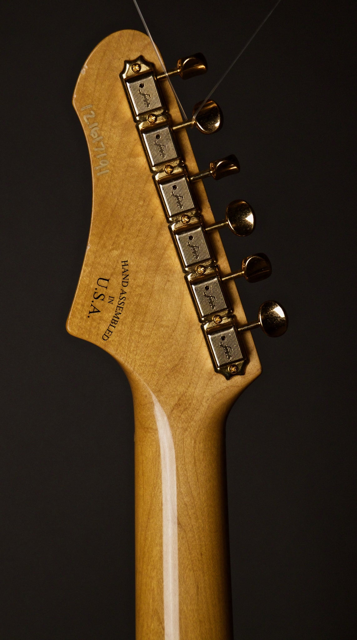 Fano Alt De Facto GF6 Electric Guitar Headstock Back