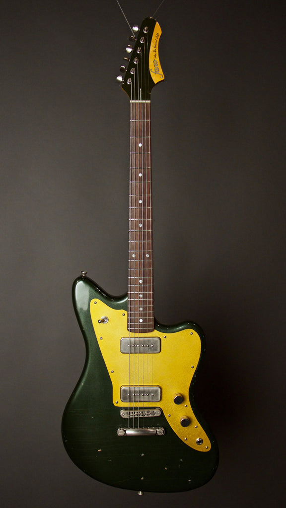 Fano Alt De Facto JM6 Green Electric Guitar Front
