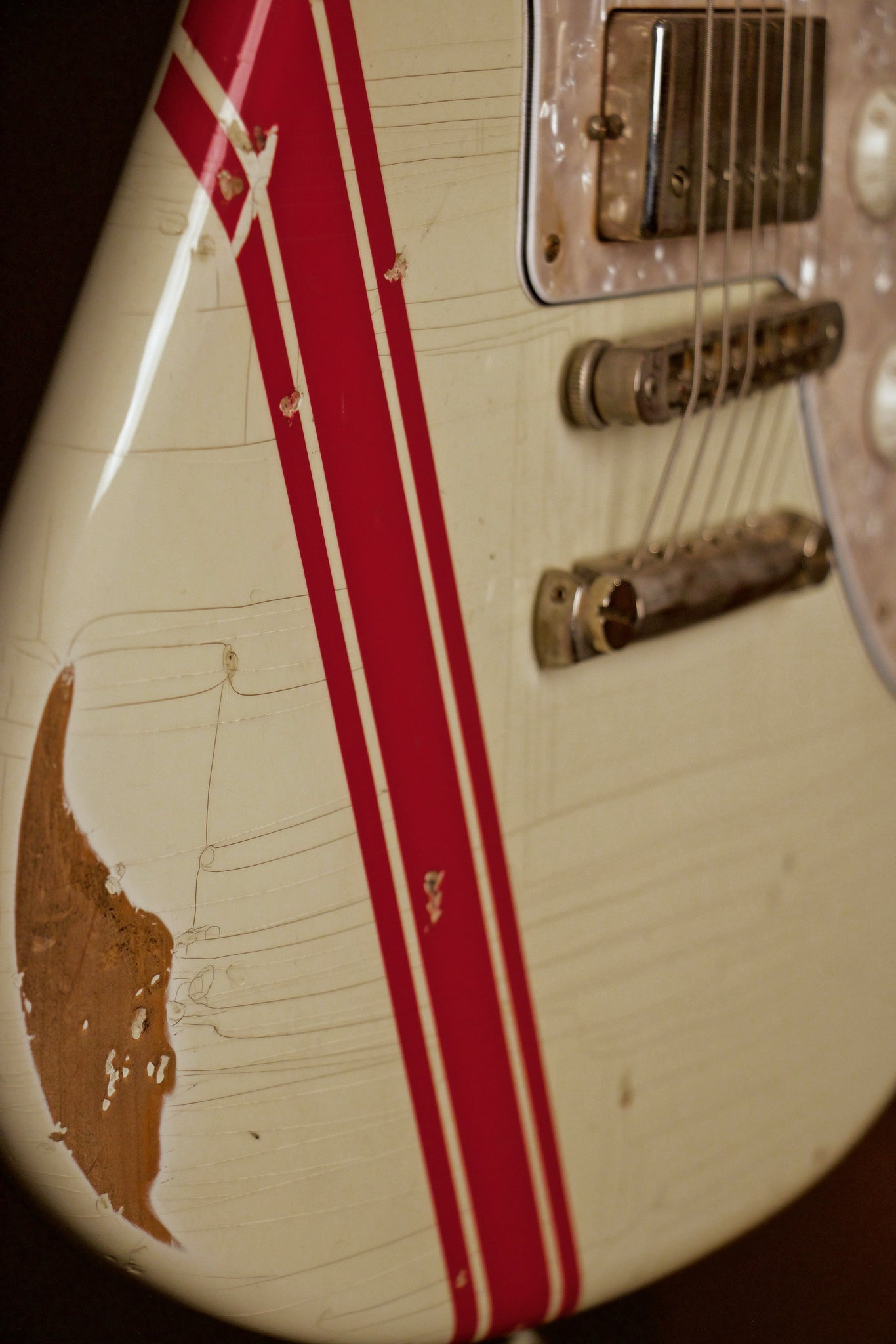 Fano Alt De Facto JM6 Electric Guitar Detail 1