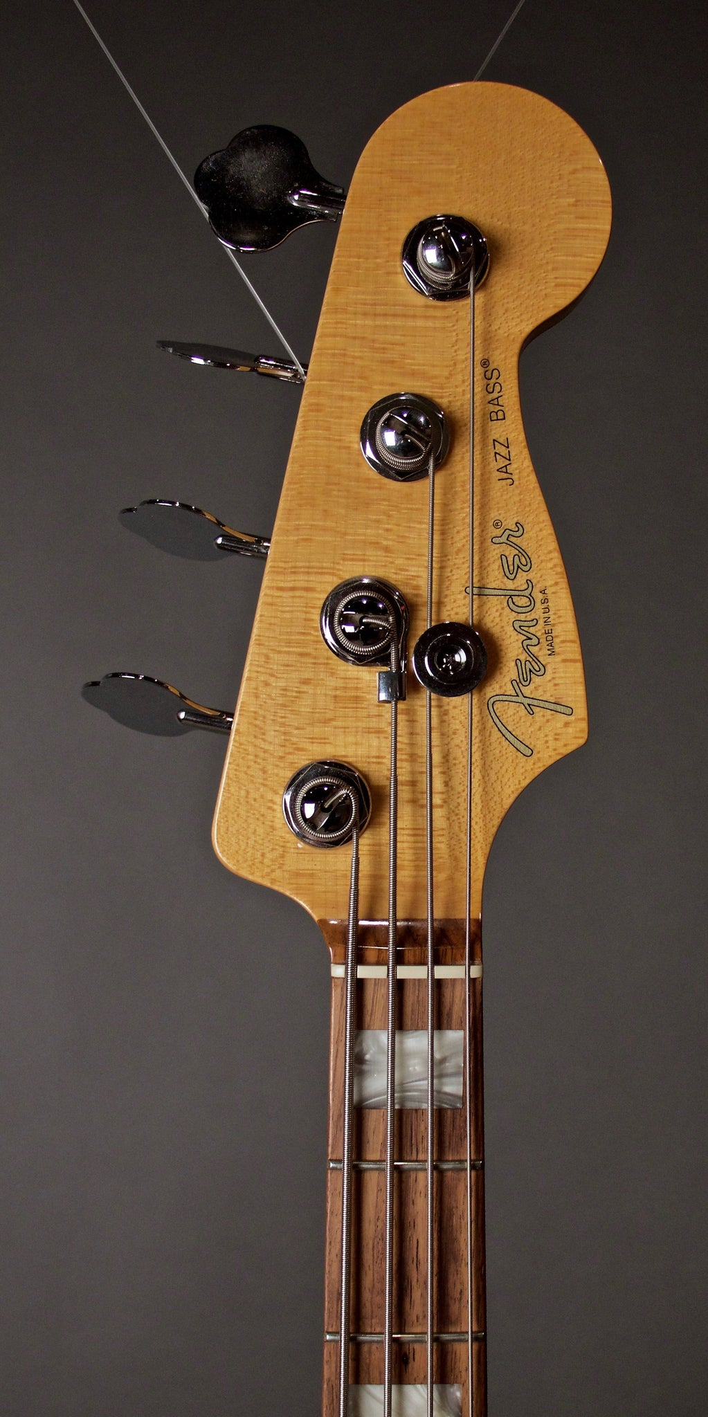 Fender Select Jazz Bass Headstock