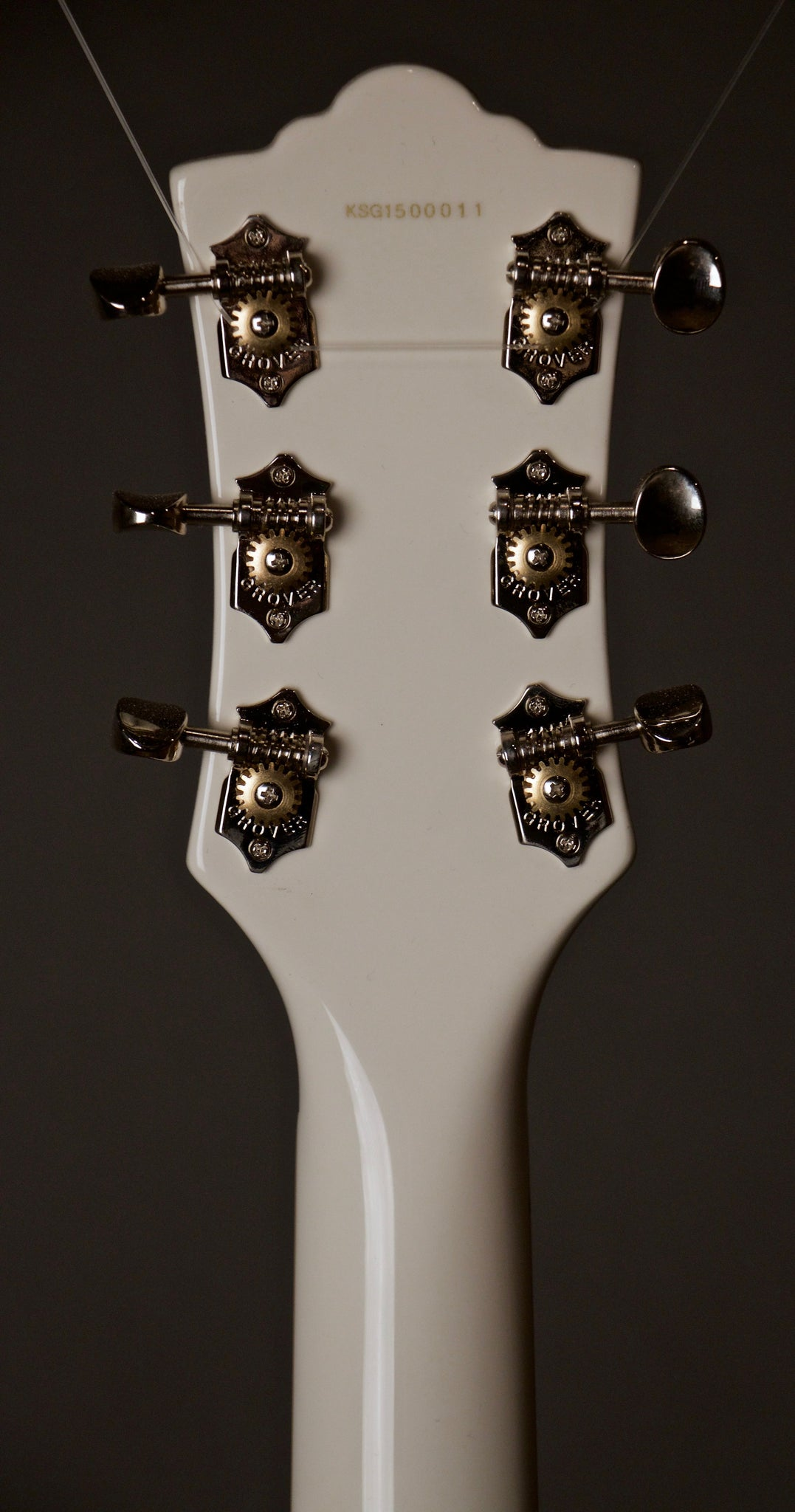 Guild S100 Electric Guitar Headstock Back
