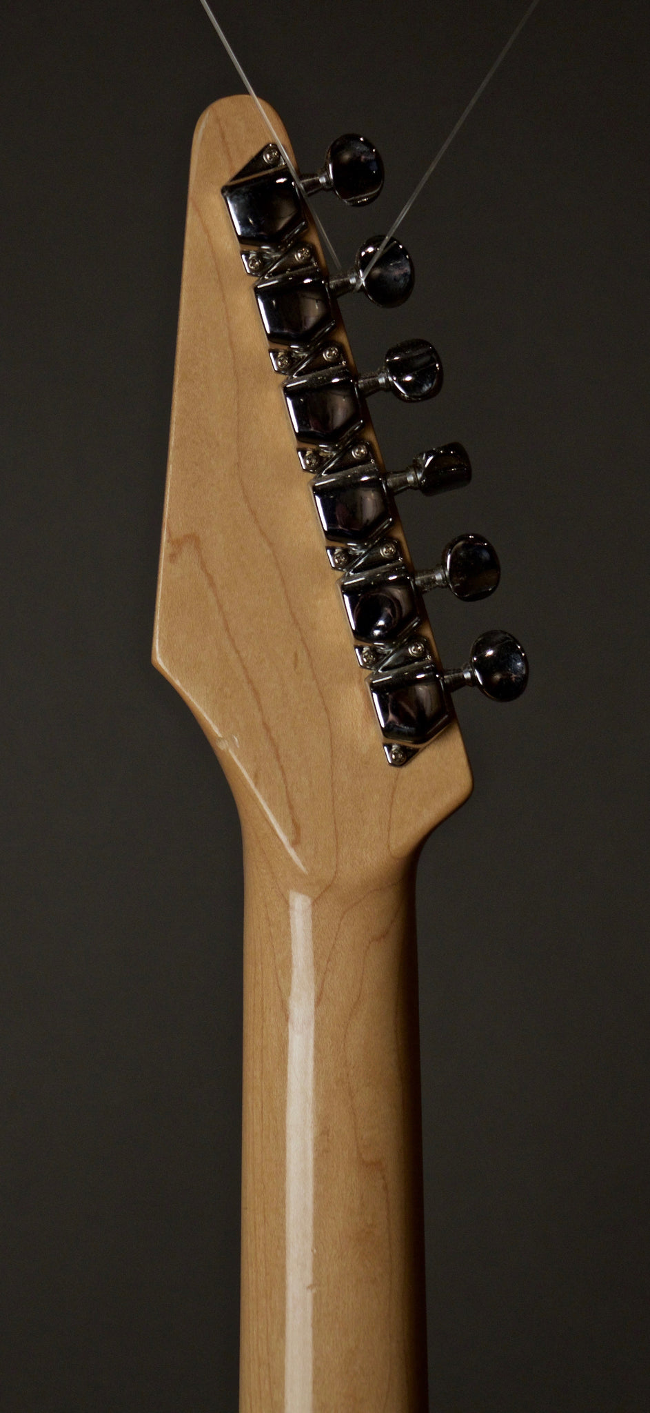 Fender Squire Katana Electric Guitar Headstock Back