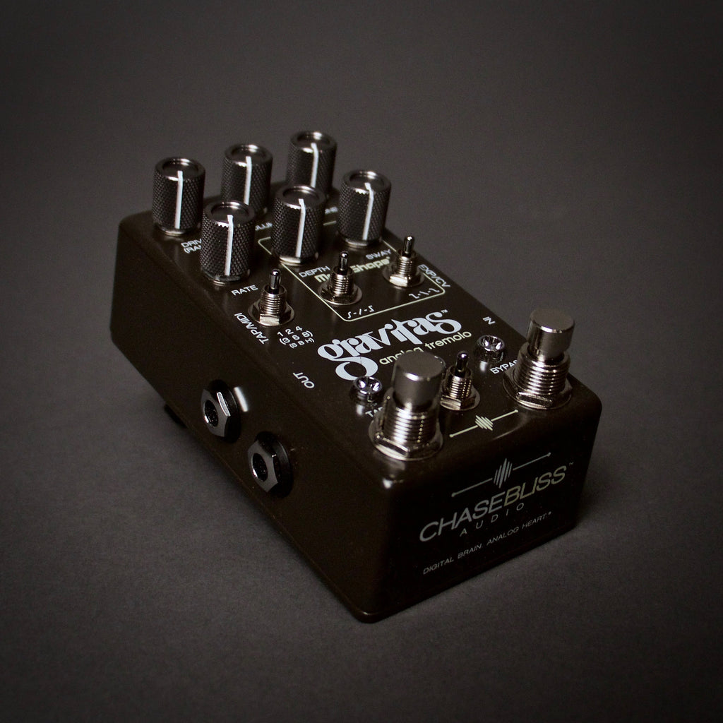 Chase Bliss Audio Gravitas Tremolo Guitar Pedals