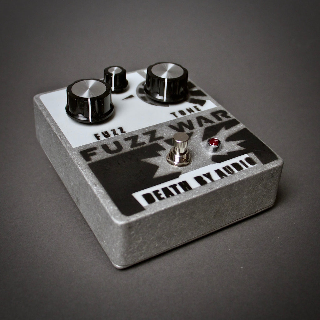 Death By Audio Fuzz War Guitar Pedal