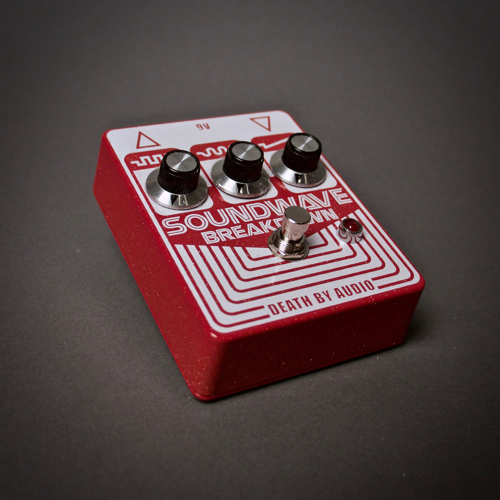 Death By Audio Soundwave Breakdown Fuzz Guitar Pedal