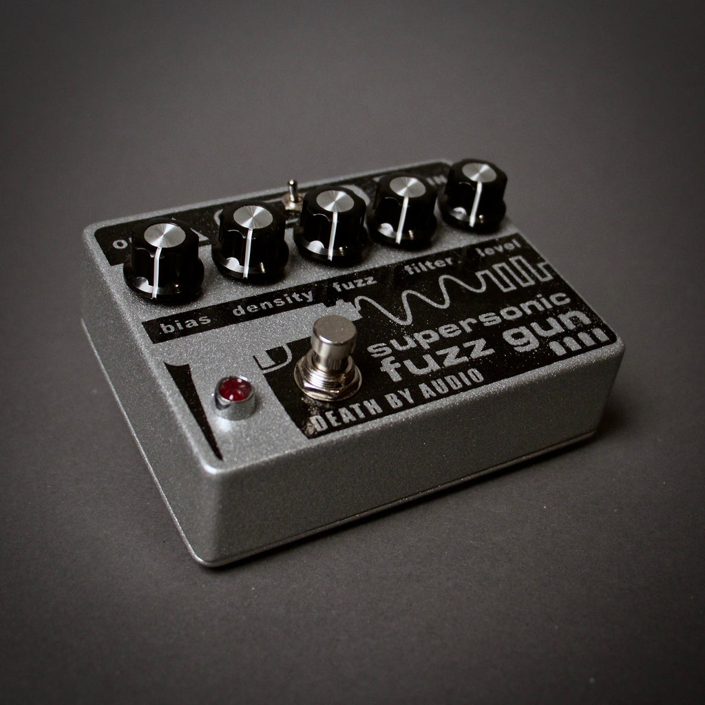 Death By Audio SuperSonic Fuzz Gun Guitar Pedal