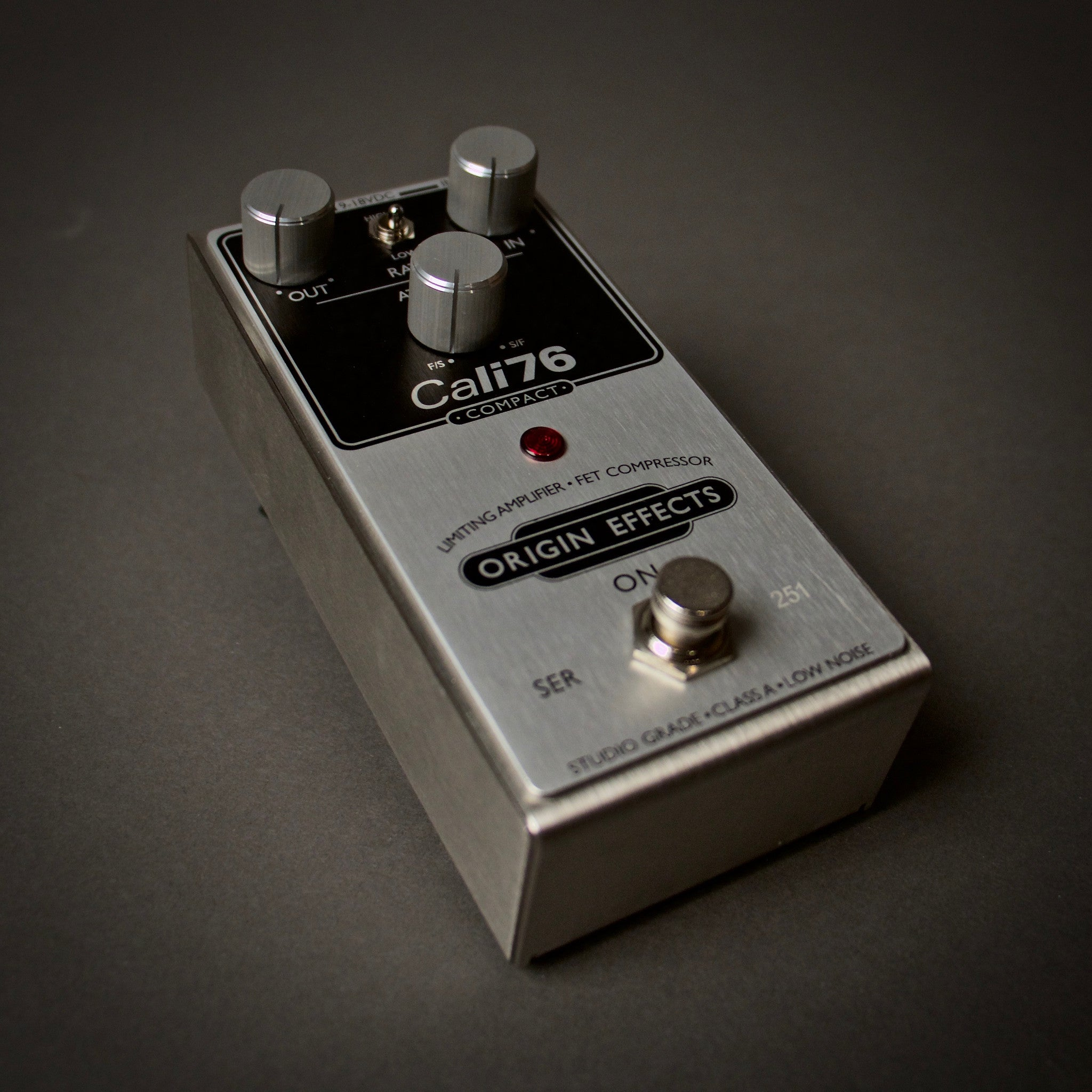Origin Effects Cali76 76-C Compressor Guitar Pedal