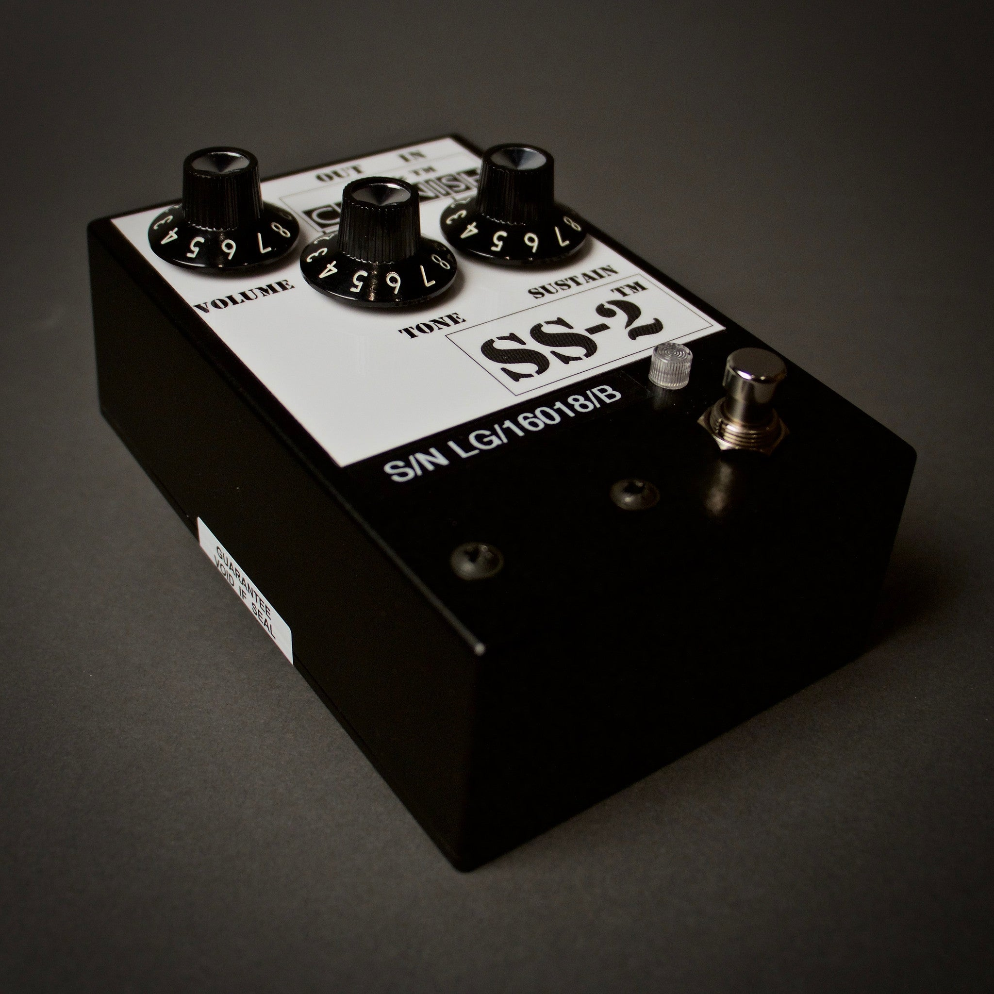 Pete Cornish SS-2 Overdrive/Distortion Guitar Pedals