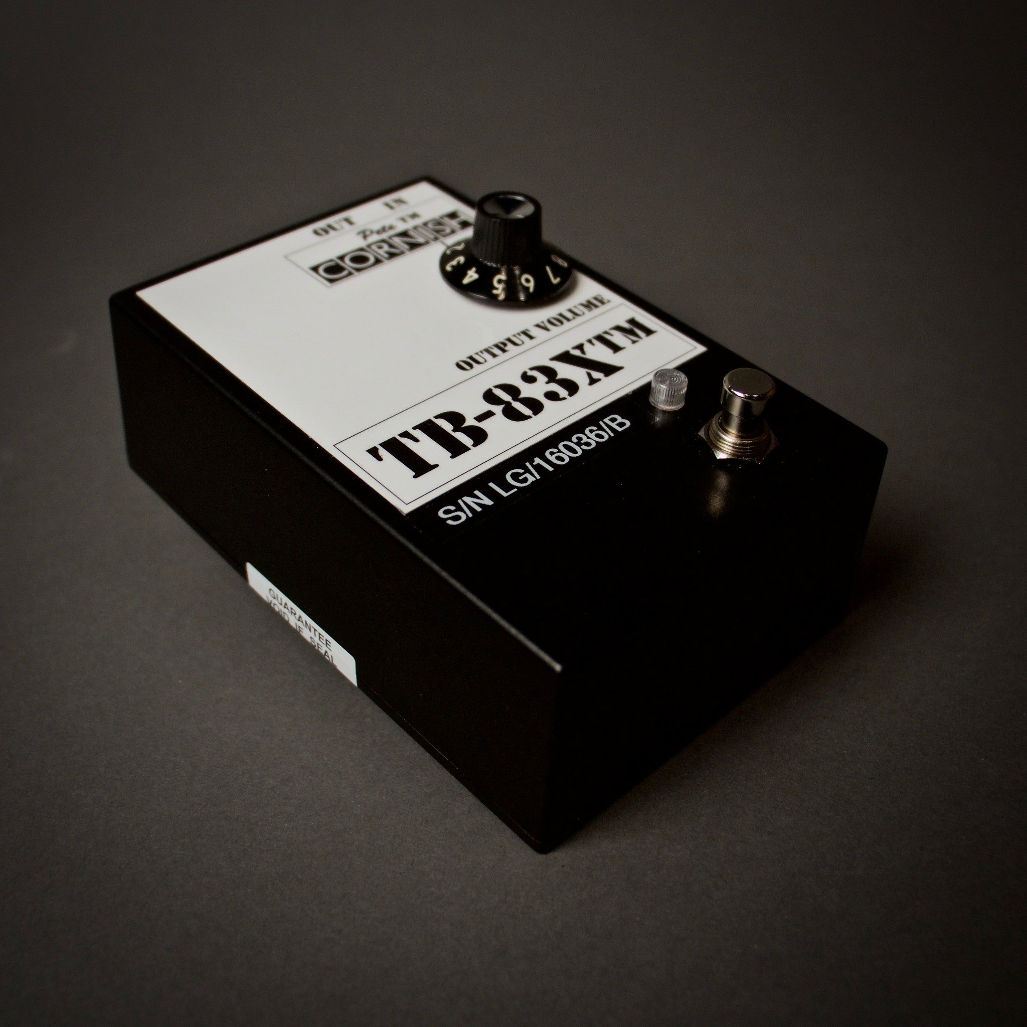 Pete Cornish TB-83X Treble Booster Guitar Pedals