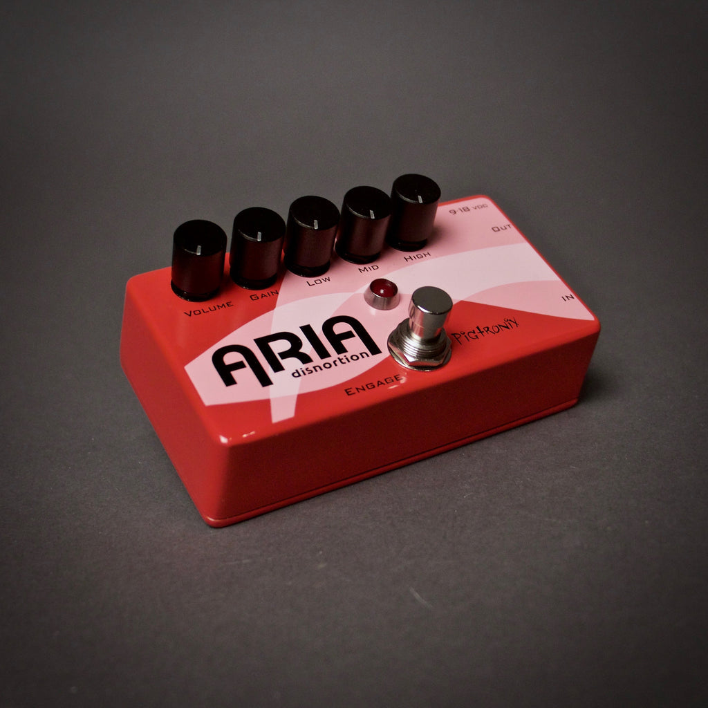 Pigtronix Aria Disnortion Guitar Pedal