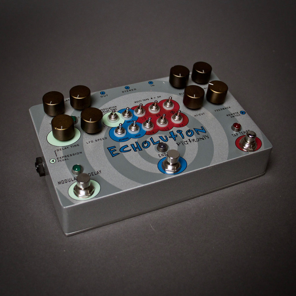Pigtronix Echolution Delay Guitar Pedal