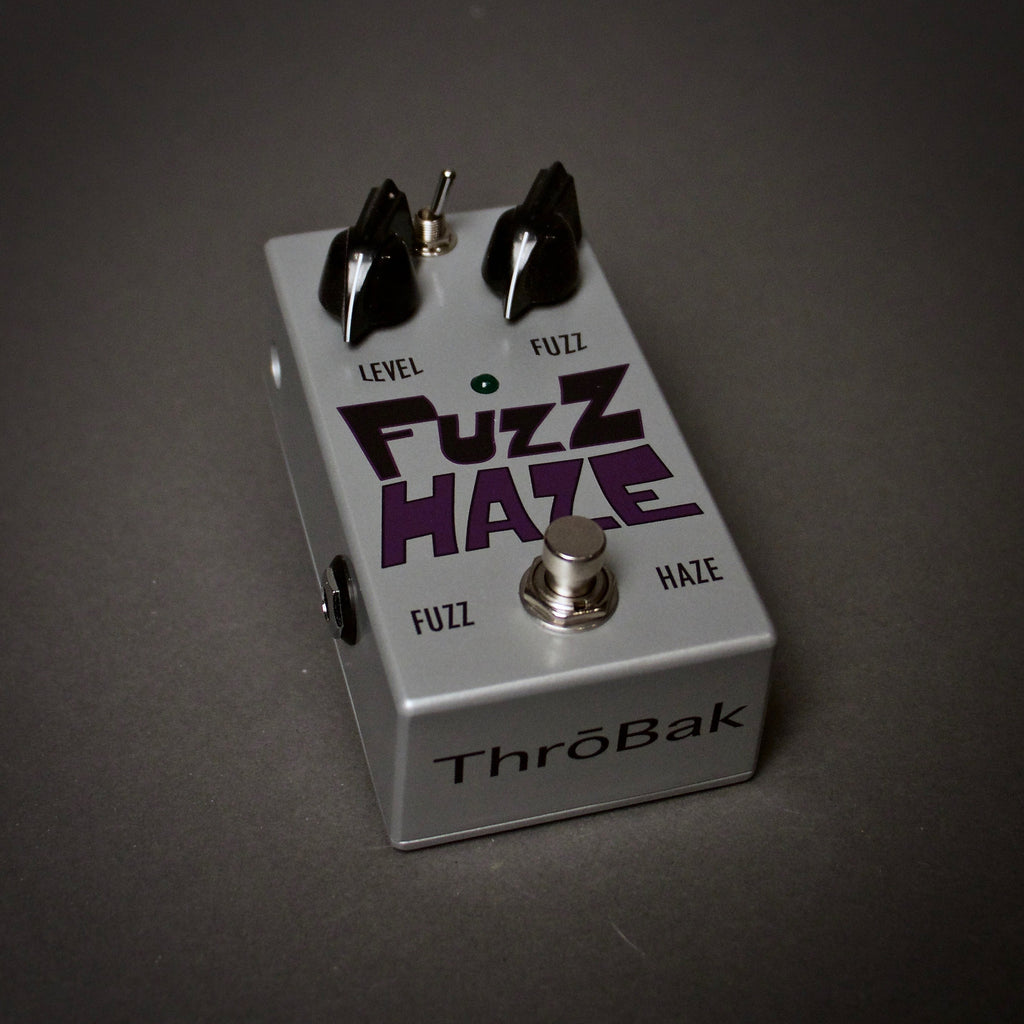 ThroBak Fuzz Haze Guitar Pedal