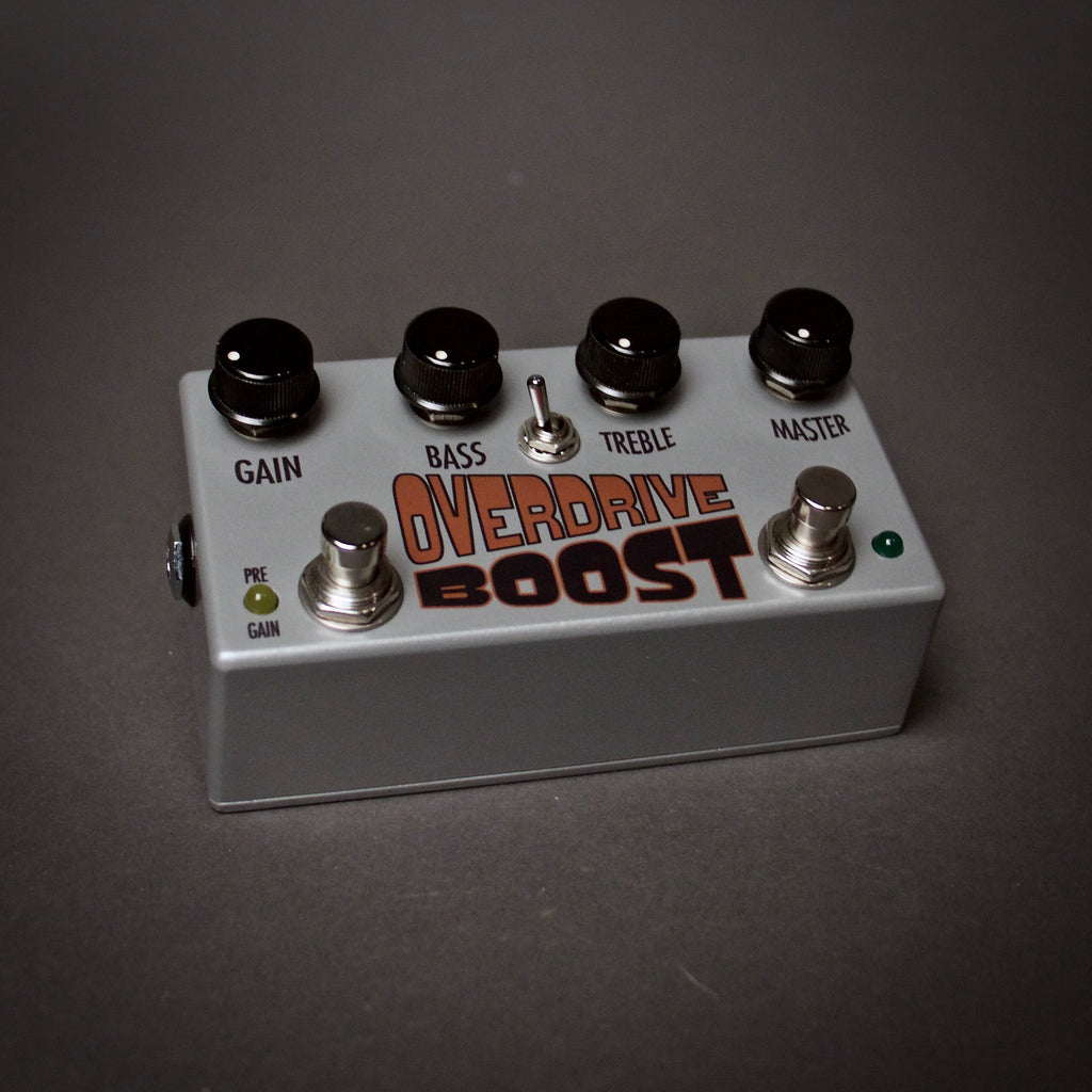 ThroBak Overdrive Boost Guitar Pedal