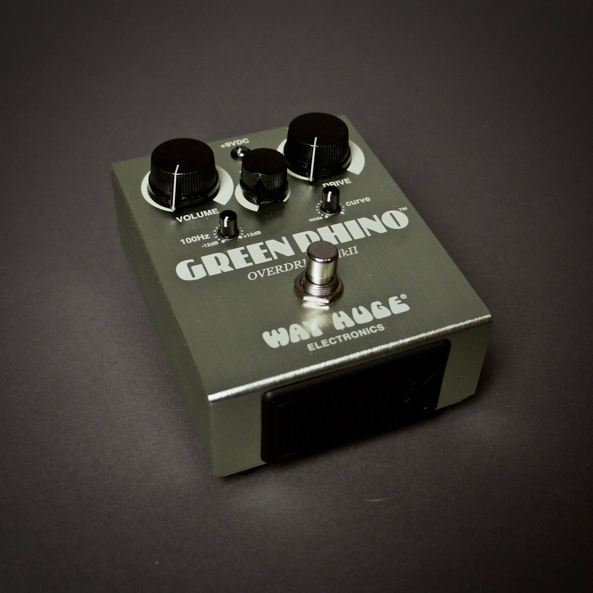 Way Huge Green Rhino Overdrive Guitar Pedal