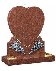 Falkirk-Heart Shaped Headstones-Mackay's Memorial Headstones
