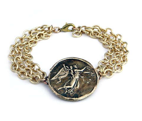 Hope of a New Day Wax Seal Charm Bracelet