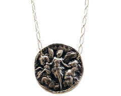 Hope of a New Day- Eos the Goddess of the Dawn Wax Seal Charm Necklace