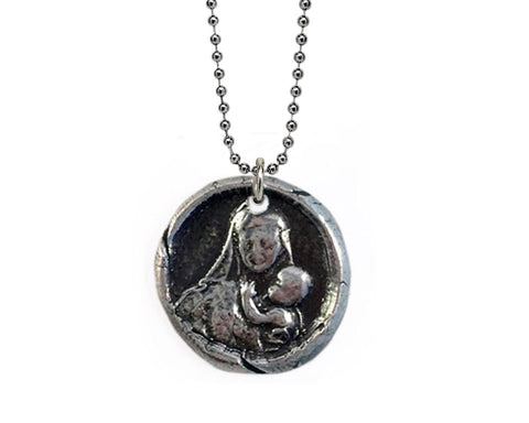 A Mother's Love - Mother and Child Wax Seal