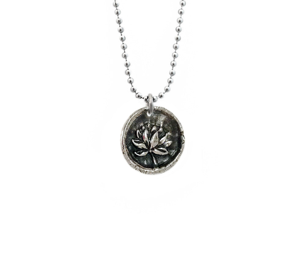 Purity and Rebirth - Lotus Wax Seal Charm