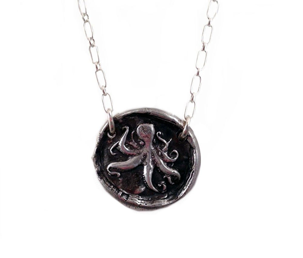 Protection & Good Luck- Octopus Necklace