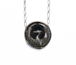 Rebirth - Phoenix Necklace
