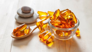 Salmon oil, supplement in trend.