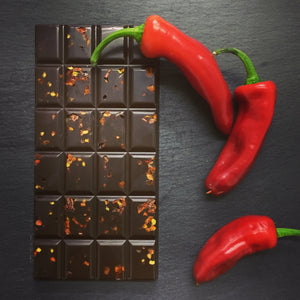 Chilli Dairy Free Dark Chocolate