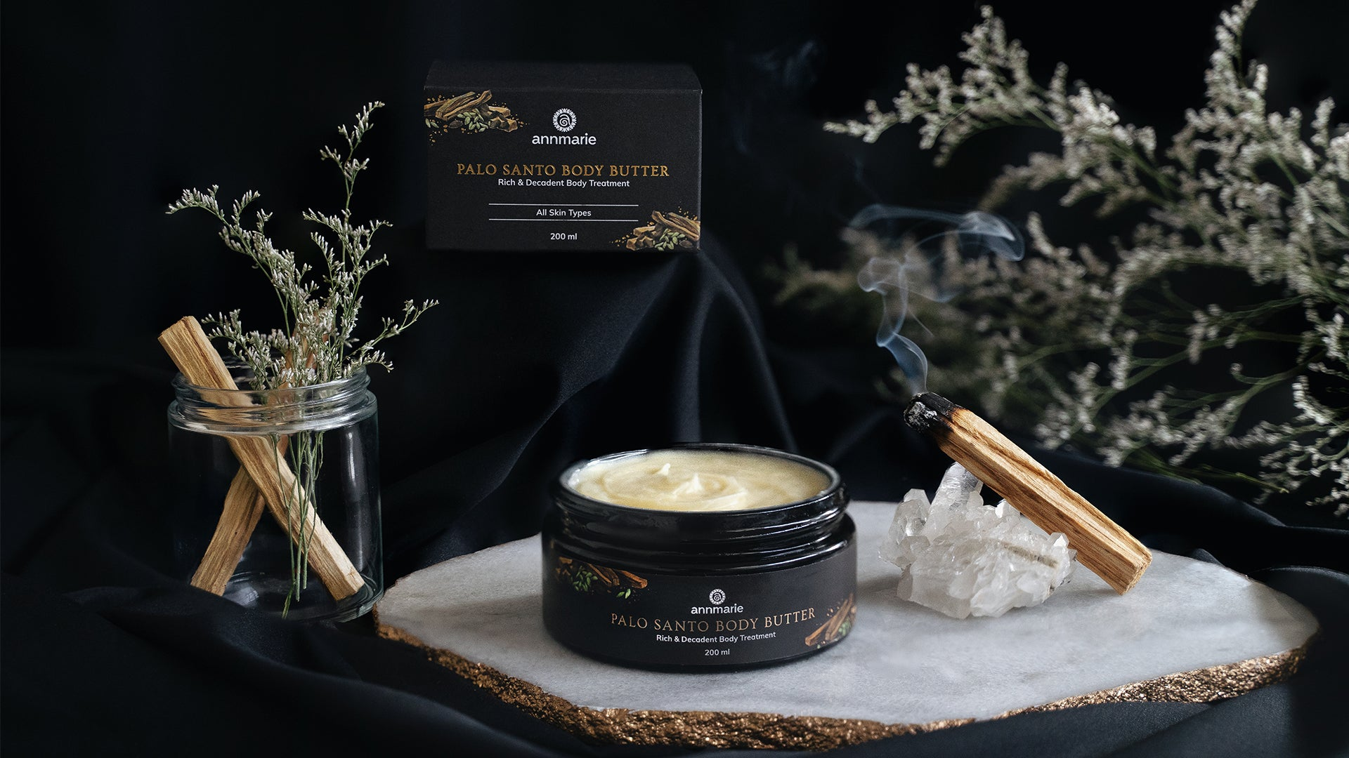 How to use Palo Santo Body Butter - Rich & Decadent Body Treatment (200 ml)