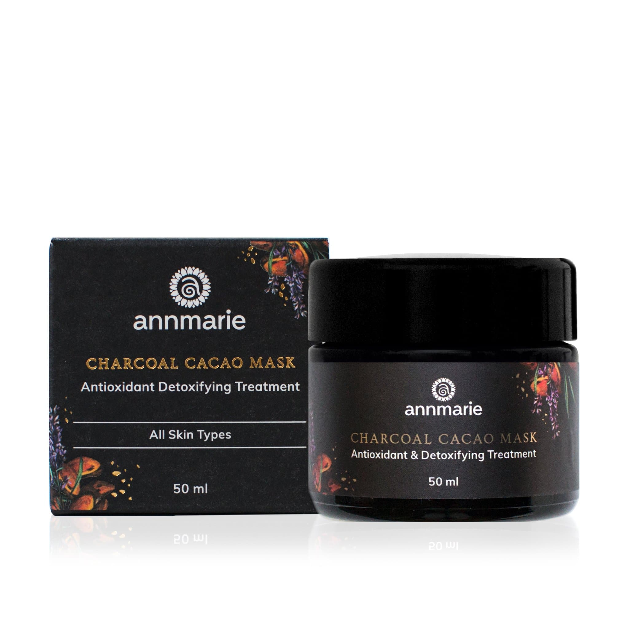 Annmarie Gianni Charcoal Cacao Mask Antioxidant Detoxifying Treatment All skin types 50ml