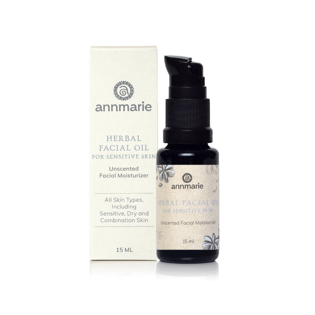 Annmarie Gianni Herbal Facial Oil for Sensitive Skin (Formerly Unscented Facial Oil) (15ml)