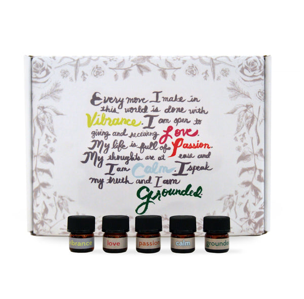 Pure Essential Oil Blends - Samples
