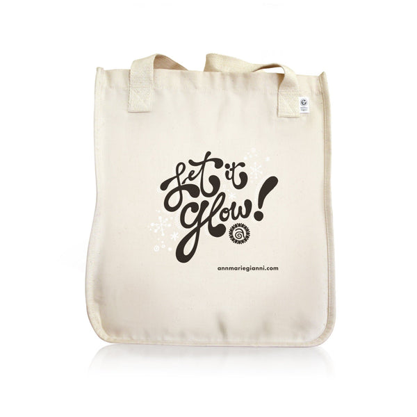 Let it Glow Holiday Tote Bag