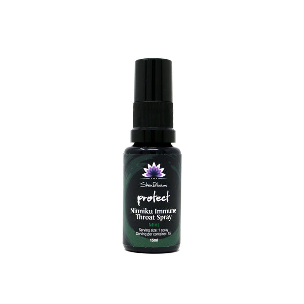Shen Blossom - Protect: Mint Immune Throat Spray (0.5oz)