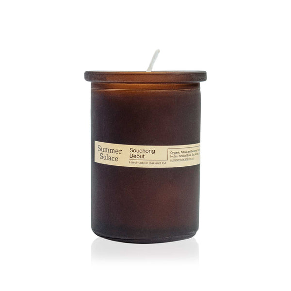 Summer Solace Tallow - Souchong Debut Candle (6oz)