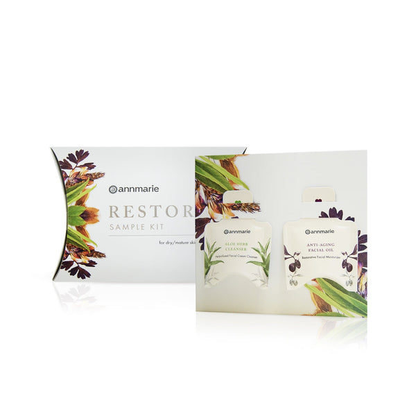 Annmarie Gianni Sample Kit - Restore for Dry & Mature Skin